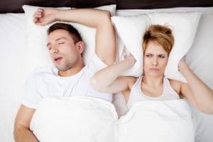 Sleep Apnea Snoring Couple